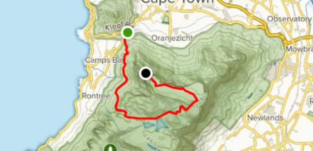 Kasteelspoort Hiking Trail