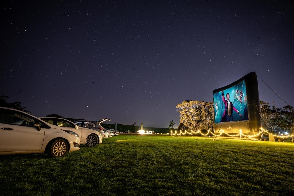 The Galileo Open Air Cinema Drive-In