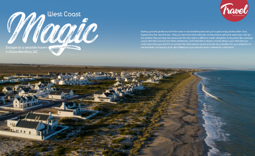 West Coast Magic – Escape to a seaside haven in Dwarskersbos, WC
