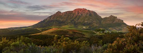 Simonsberg mountain, Stellenbosch